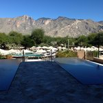 Azul patio to the Catalina Mountains