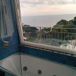 Incredible and spacious bathroom with a view in room 68