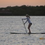 Paddleboarding!  So fun.....