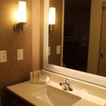 Large, accessible bathroom area, Homewood Suites by Hilton Winnipeg Airport-Polo Park, MB  |  12