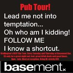 Pub Tours every Tuesday and Thursday. $8, includes food and great drink deals