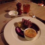 Venison at the George. Very reasonably priced, not Dear at all.