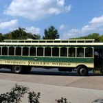 Ride the trolley.