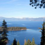 Emerald Bay and Lake Tahoe from Inspiration Point Vista, Tahoe City, CA