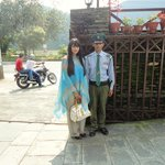 The guard whom is very helpful & friendly :)