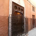 The entrance to Riad Assikina