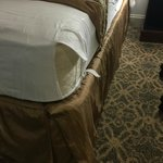 Ripped Matress Sheet at the Whitney Hotel NOLA