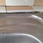 mould around sinks and bath