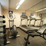 Stay in shape at our 24 Hour Fitness Center.