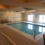 Indoor pool plus a whirlpool/jacuzzi