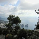 View from the highest point on Monte Solaro