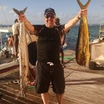 one of the Wahoo and Mahi Mahi we caught with Captain Herman.  he is the best.