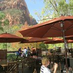 Red Rock Grill, Zion Lodge, Patio Dining