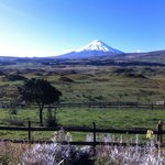 View from the cabin (Cotopaxi vulcano)