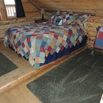 Western Bedroom in Canyon View Family Cabin
