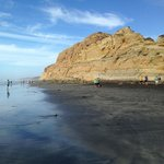 View from the beach below Torrey Pines