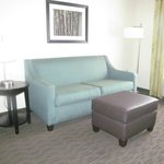 couch in mini suite