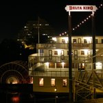 Delta King at night