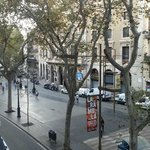 Street View from Breakfast Room Balcony