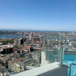 view of golden horn from the roof