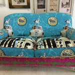 Bollywood blonde Couch