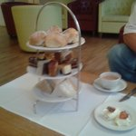 afternoon tea really lovely