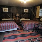 Cabin beds and nightstand