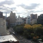 View to Union Square park