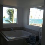 the tub with a view