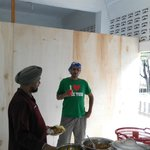 The Dining Hall of the Gurdwara,Medan(under renovation)