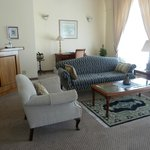 our guest lounge within our suite - all of the rooms are very spacious & beautifully appointed