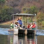 Sundowners Kavango river cruise was fabulous