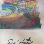 Sea House Menu