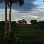 The Mayan Observatory View From Mayaland Hotel