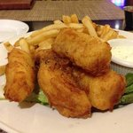 the fish 'n chips... delicious!