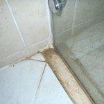 Shower with dirty corners