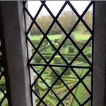 View of manicured gardens from Duke of Wellington suite