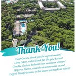 Dear Guests, thank you for a great season!