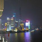 A view of Shanghai at night