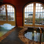 adult only pool in the boathouse lodge