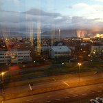 Not a great PIC but this is the view from the Executive Lounge