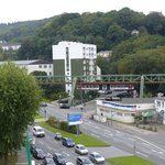 View from Ibis Wuppertal