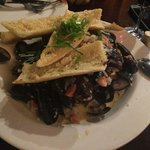 Mussels (order extra bread to dip)