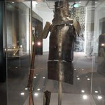 The suit worn by the notorious outlaw Ned Kelly