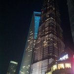 Jinmao Tower hosting the hotel