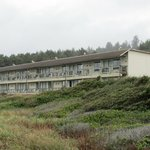 Ocean View Building, Back side of Motel