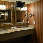 Presidential Suite bathroom sink area