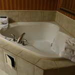 Presidential Suite jacuzzi with bath robes