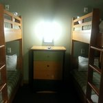 4 Bunk Bed Room with a TV