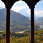 majestic view of Hunza from Baltit fort